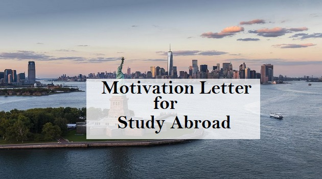 motivation letter for study abroad