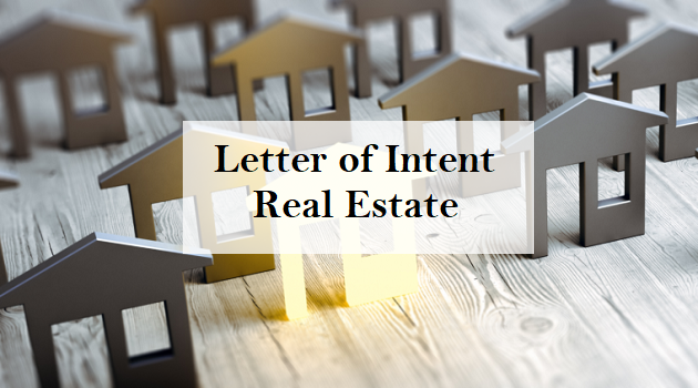 Format And Examples Of Letter Of Intent Real Estate