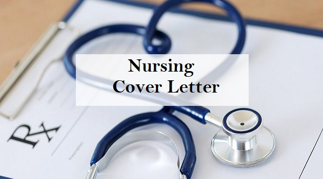 nursing cover letter