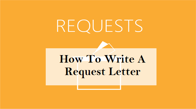 how to write a request letter