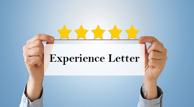 experience letter