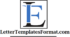 Letter Templates Format